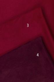 Замша однотонная SA3322-3-4